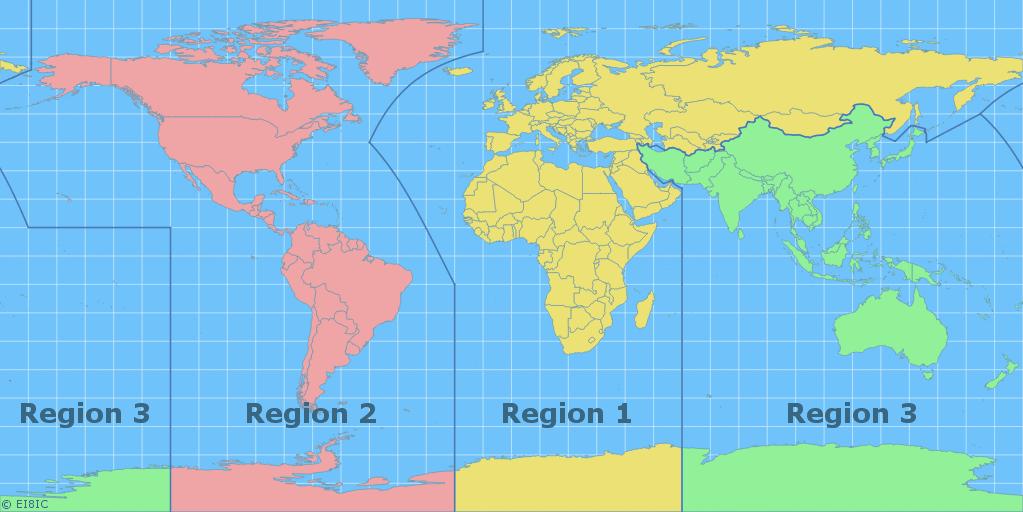 IARU Regions