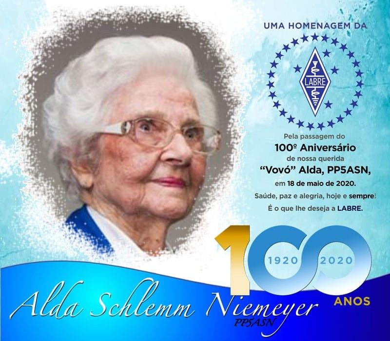 100 years of life of Alda Schlemm Niemeyer
