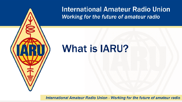 IARU Presentations now available