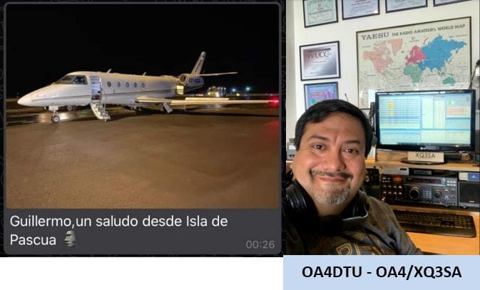Peruvian Radio Amateur helps air ambulance that lost communication