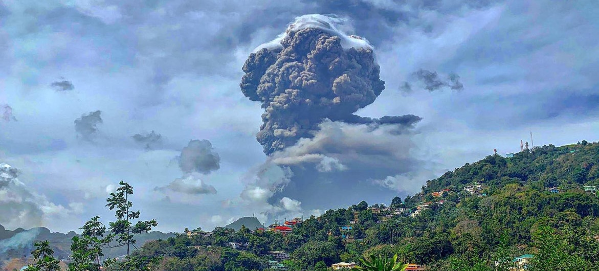 Clear Frequencies Requested for Net Providing 24⁄7 Coverage of Saint Vincent Volcanic Eruption