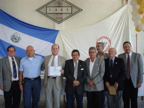 El Club de Radio Aficionados de El Salvador (CRAS) celebro su 50 aniversario