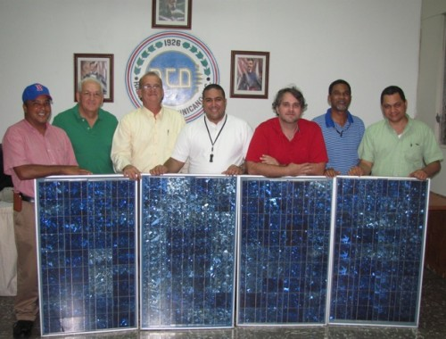 RCD receives solar panels