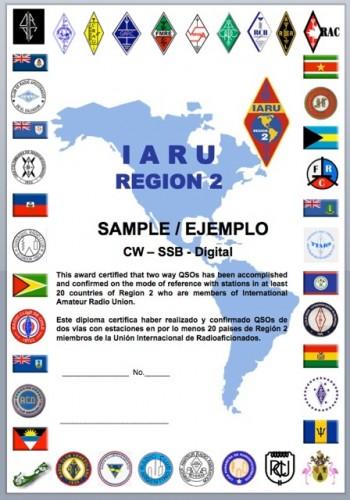 IARU R2 Award