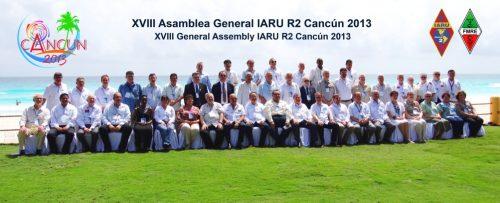 VXIII Asamblea General de IARU R2 en Cancun 2013